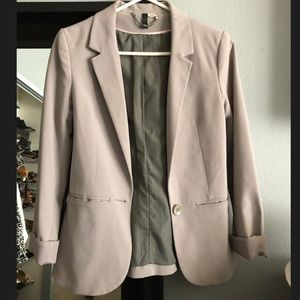 Grey H&M Styled Blazer